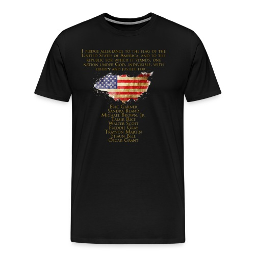 Justice for the Unarmed - Men's Premium T-Shirt