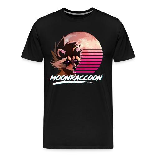 Moonraccoon - Men's Premium T-Shirt