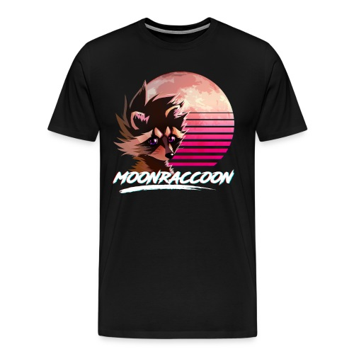 Moonraccoon - Men's Premium T-Shirt