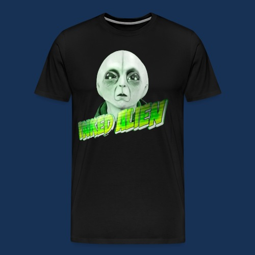 Inked Alien Logo #2 - Men's Premium T-Shirt
