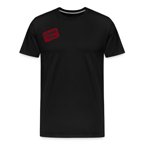 Combodeal Transparent Logo - Men's Premium T-Shirt