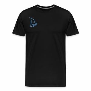 Brenden London BLUE Logo - Men's Premium T-Shirt