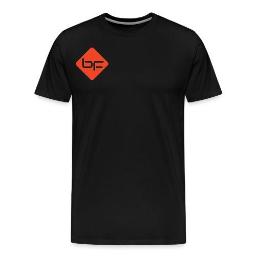 logo BF rouge - Men's Premium T-Shirt