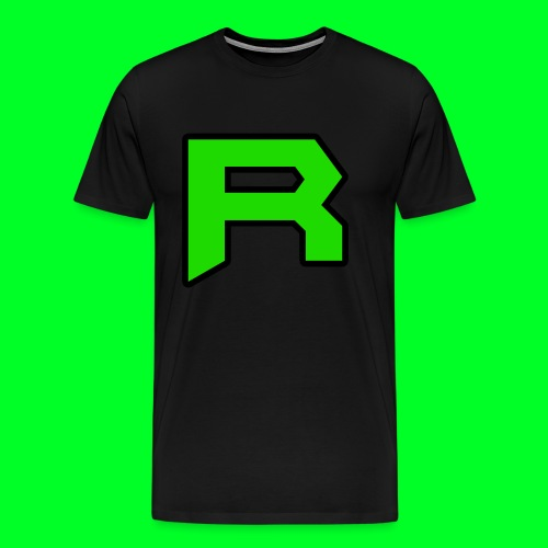 Retro ItsRusher Logo - Men's Premium T-Shirt