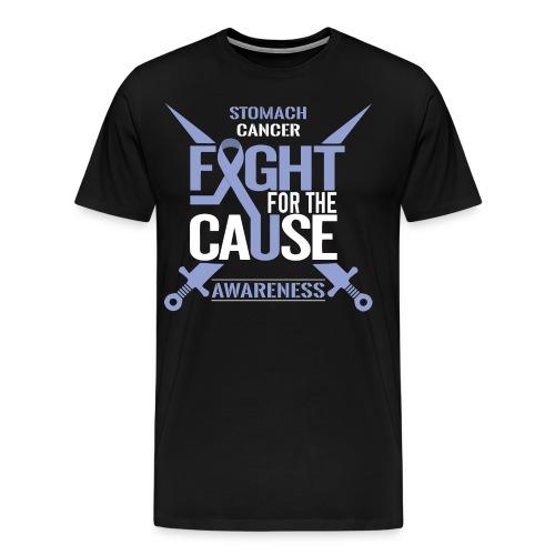 Stomach Cancer Awareness - Men's Premium T-Shirt