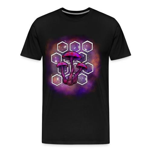 mushroom galaxy - Men's Premium T-Shirt
