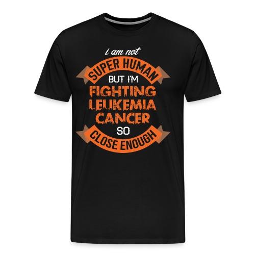 Leukemia Cancer Awareness - Men's Premium T-Shirt