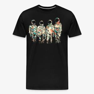 GLITCH   ASTRONAUTS - Men's Premium T-Shirt