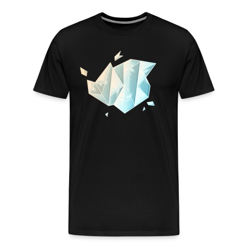 Hunter Playz Games Diamond Logo - Men's Premium T-Shirt