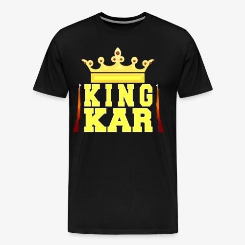 Crowned To King Kar - Men's Premium T-Shirt