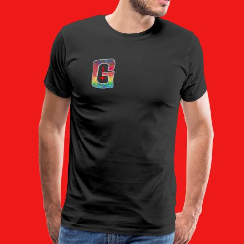 Psychedelic Tired Gang Logo - Men's Premium T-Shirt