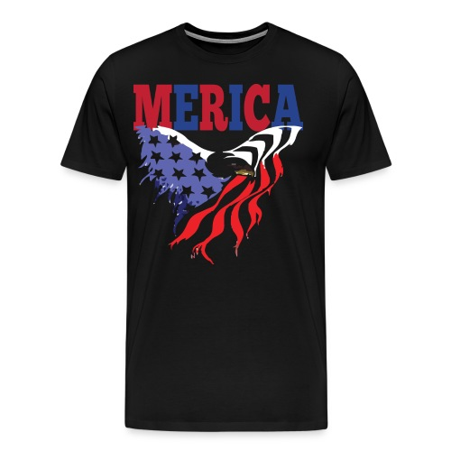 MERICA 4th of july t shirts old navy TSHIRT - Men's Premium T-Shirt