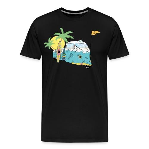 Vis - Surf Bus - Men's Premium T-Shirt