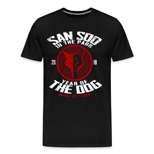 San Soo in the Park 2018 - Men's Premium T-Shirt
