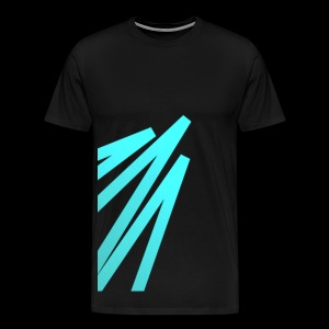 Rising Big Digital Green Light - Men's Premium T-Shirt