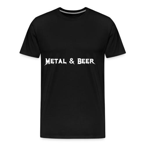 metalbeer_ok - T-shirt premium pour hommes