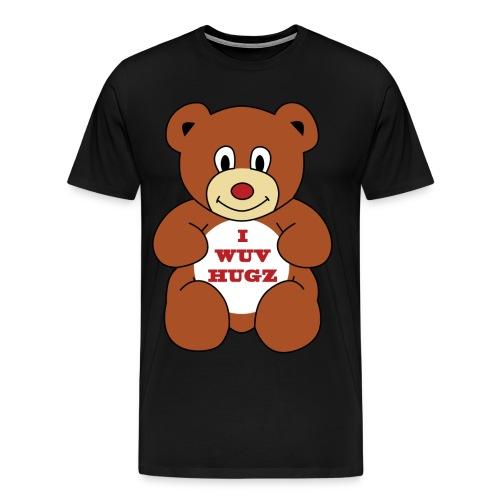 I Wuv Hugs shirt - Men's Premium T-Shirt