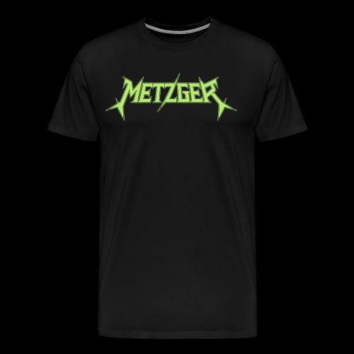 Metzger green logo - Men's Premium T-Shirt