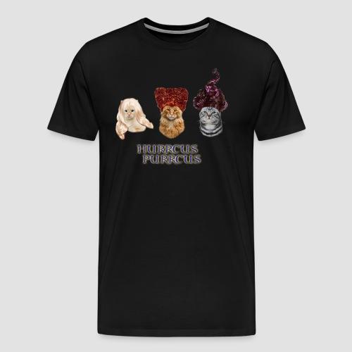 Hurrcus Purrcus Cat Parody Movie Hocus Pocus - Men's Premium T-Shirt
