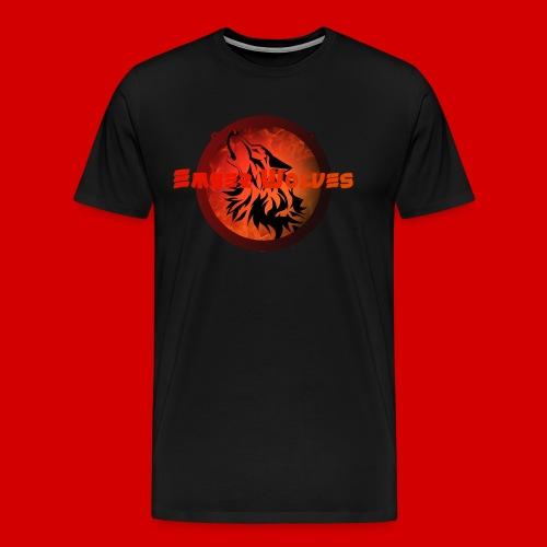Classic Ember Wolves Logo - Men's Premium T-Shirt