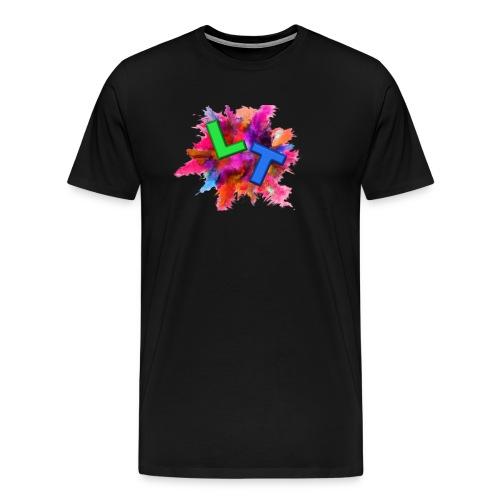 ListenTunes Splat Logo - Men's Premium T-Shirt