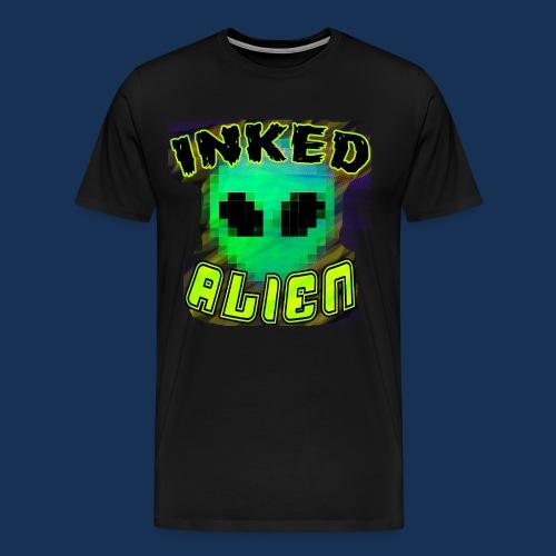 Inked Alien Logo Shirt #1 - Men's Premium T-Shirt