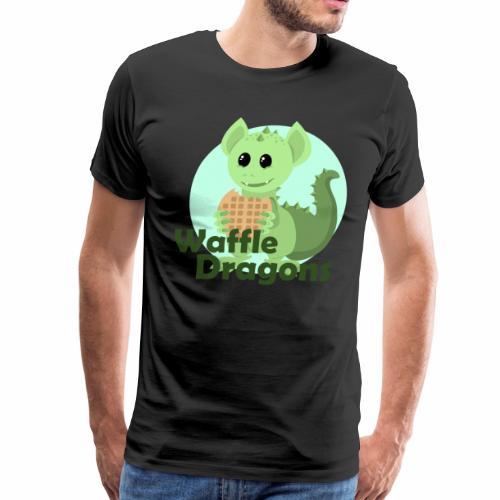 Queen Waffle - Men's Premium T-Shirt