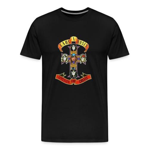 Gaus N Roses - Men's Premium T-Shirt