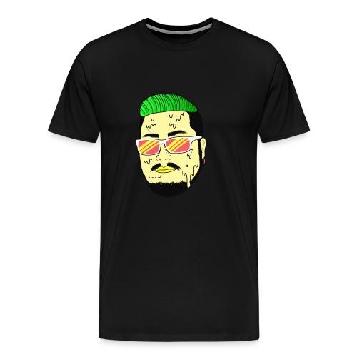 Monster Infested Face - Men's Premium T-Shirt