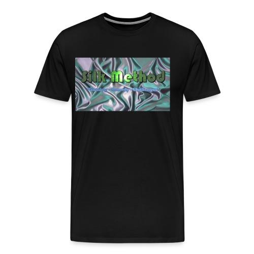 silk method - Men's Premium T-Shirt