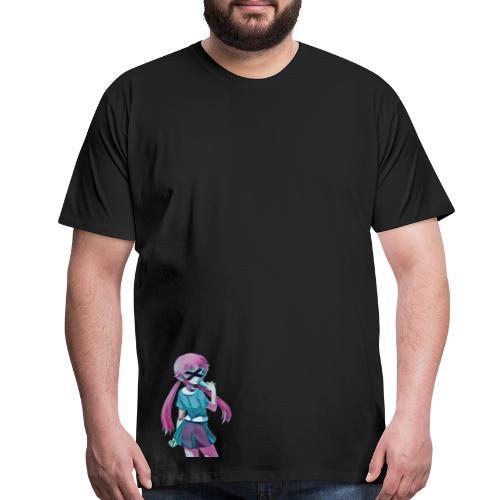 Suicidal girl - Men's Premium T-Shirt