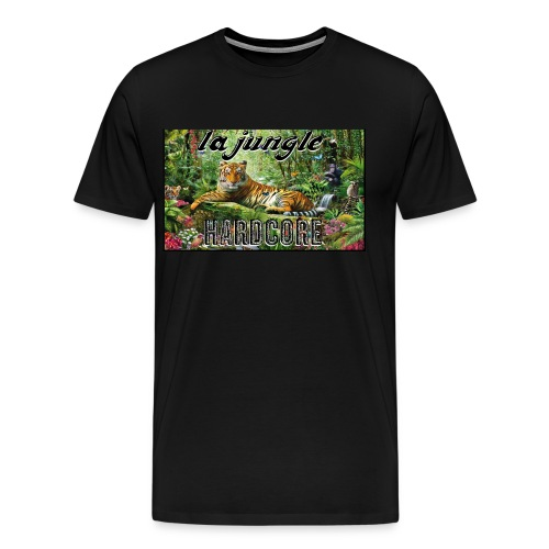 lajunglehardcore - Men's Premium T-Shirt