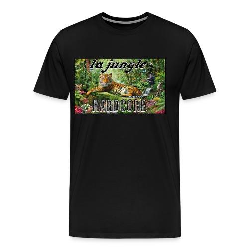 lajunglehardcore - T-shirt premium pour hommes