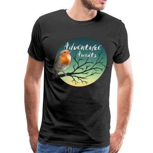 Adventure awaits - Men's Premium T-Shirt