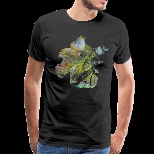 Dragon boat is better - Men's Premium T-Shirt