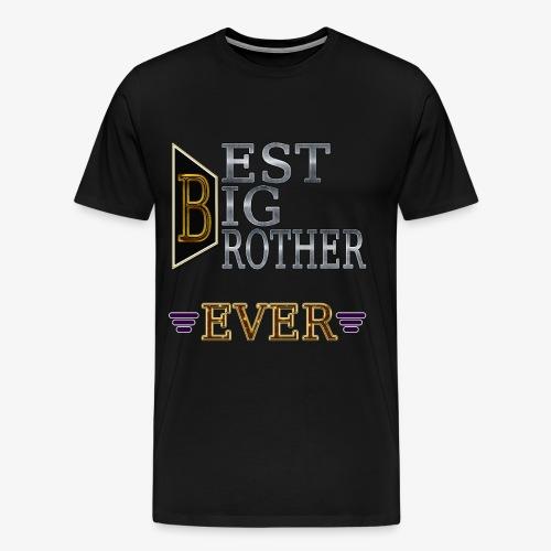 BEST Brother Shirt Big brother - Men's Premium T-Shirt