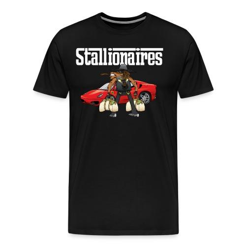 STALLIONAIRES TEE2 01 - Men's Premium T-Shirt