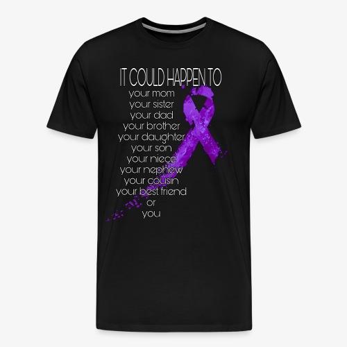 Domestic Abuse Awareness - Men's Premium T-Shirt