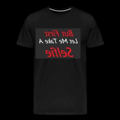 Let's Take Selfie - Men's Premium T-Shirt
