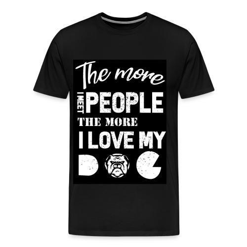 Dog owner T shirt - Men's Premium T-Shirt
