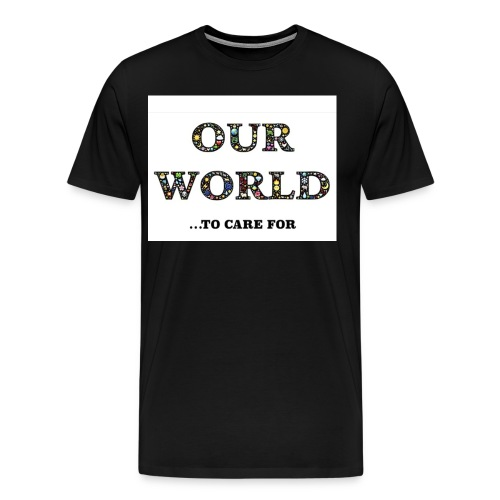 Save the world, save the planet earth awareness - Men's Premium T-Shirt