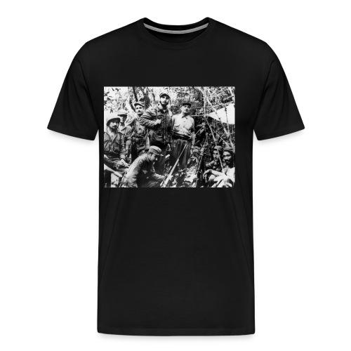 Viva Fidel ~ Soldier - Men's Premium T-Shirt