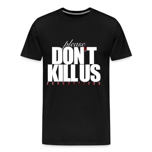 PDKUP White Logo - Men's Premium T-Shirt