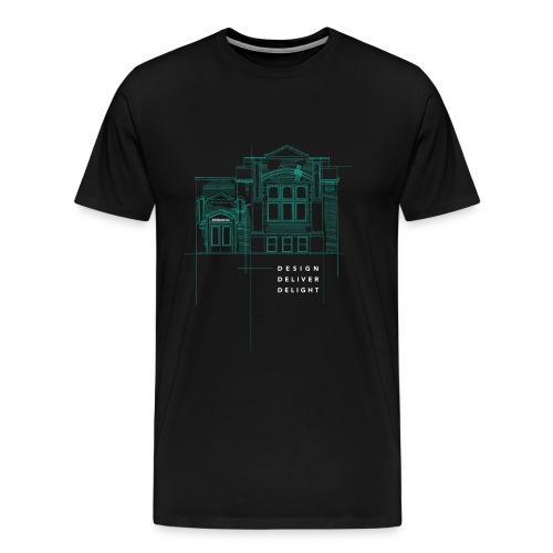 Building - Men's Premium T-Shirt