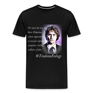Trudeau Eulogy Emperor Palpatine - Men's Premium T-Shirt