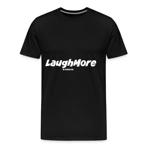 LAUGH MORE T-SHIRTS - Men's Premium T-Shirt
