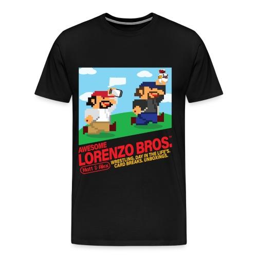 Awesome Lorenzo Bros 8 Bit - Men's Premium T-Shirt