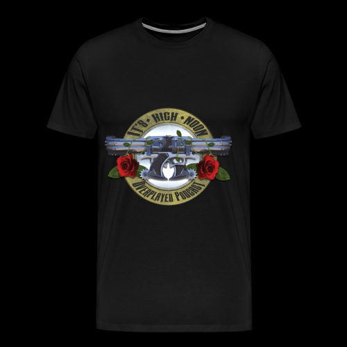 Overplayed - It's High Noon - Men's Premium T-Shirt