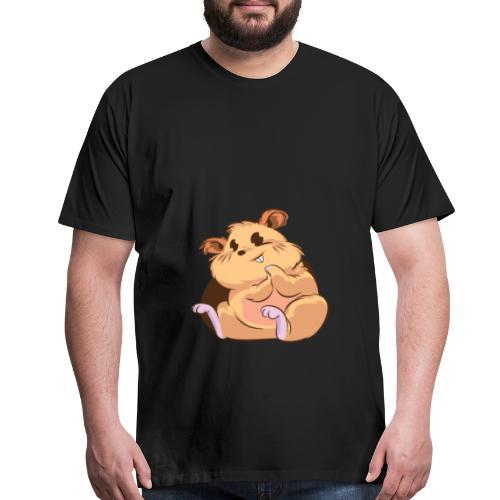 Chappy the Hamster - Men's Premium T-Shirt