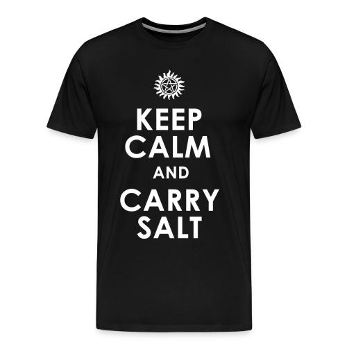 keep calm and carry Salt - Men's Premium T-Shirt